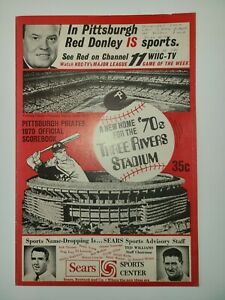 Final Game At Forbes Field Program - Pittsburgh Pirates - 1970
