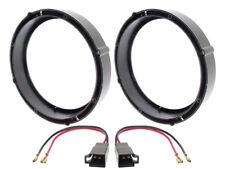 Anneaux Haut-parleur 165mm+Câble adaptateur KIT pour Seat Exeo DEVANT+QUEUE