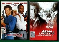 ARMA LETALE 3 (1992) + ARMA LETALE 4 (1998) 2 DVD - CUSTODIA SNAPPER CASE WARNER