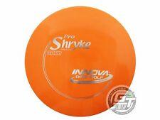 New Innova Pro Shryke 158g Orange Silver Foil Distance Driver Golf Disc