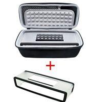 Storage Case Bag + Soft Cover For Bose-Soundlink Mini I II 2 Bluetooth Speaker