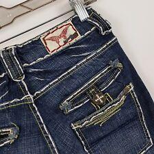 Laguna Beach USA Skinny Slim Leg Women's Dark Wash Blue Jeans Size 26 x 30