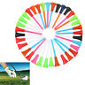 Cheapest 100pcs 85mm Rubber Cushion Top Plastic Golf Tees Random Color From US