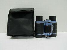 VIVITAR Compact Classic Binoculars- 4X30- Coated Blue- Black
