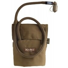 Source Kangaroo 1 Liter Bladder w/ Pouch Coyote Brown Colapsable Canteen 33 oz