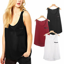 Unbranded Chiffon Patternless T-Shirts for Women