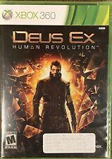 Deus Ex: Human Revolution (Microsoft Xbox 360, 2011) BRAND NEW FACTORY SEALED