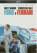 Ford V Ferrari New Dvd * Action Drama * Shipping Now !