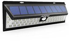 Sécurité jardin lumière solaire Mpow 54 led solaire lumières extérieur imperméable sola...