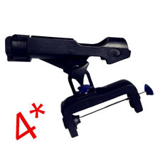 4Pcs Fishing Rod Holders for Boats with Large Clamp Opening 360°  Adjustable