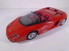 1991 REVELL--RED FERRARI PININFARINA MYTHOS CAR (LOOK) 1/18 SCALE