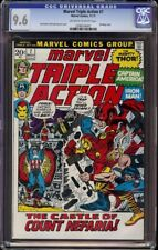 Marvel's Triple Action # 7 CGC 9.6 OW/W (Marvel 1972) Classic Pictureframe cover