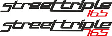 StreetTriple 765 Fairing Decals / Stickers (Any Colour) X2