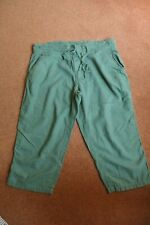 Next green cropped trousers - 16R