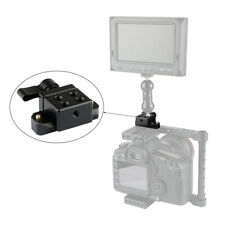 """Aluminum Quick Release NATO Clamp 50mm Rail 1/4""""-20 Mount for DSLR Cage Monitor"""