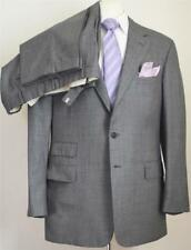 Striking! Ralph Lauren Purple Label Italy Gray 99% Wool/1% Cashmere SB Suit 44R