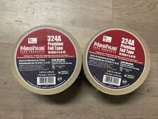 Lot Of 2  Nashua Premium Foil Tape 324A HVAC Duct 2.83 In x 60 Yds