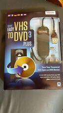 GENUINE ROXIO Easy VHS to DVD 3 Plus  Full Edition DVD