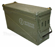 USGI 40mm AMMO CAN PA-120 Steel Large Removable Lid Military Surplus EXCELLENT