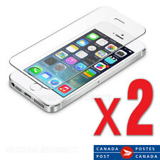 Tempered Glass Screen Protector For  iPhone 5 5c 5s / iPhone SE (2 PACK) -Canada