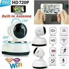 720P HD Wireless IP Security Camera Indoor CCTV Home Smart Wifi Baby Monitor US