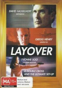 Layover DVD David Hasselhoff Movie 2001 Thriller Action - SAME / NEXT DAY POST