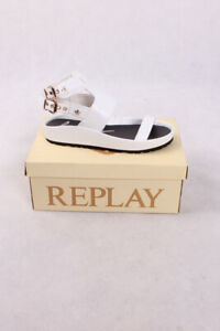 Replay RF350002S POSTAR WHITE  Damen Schuhe