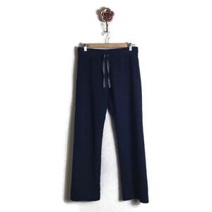 Figs Navy Livingston Scrub Pants Women Small