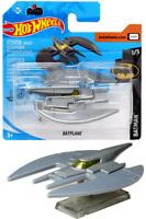 Rare - Hot Wheels Batman Silver Metallic Batplane
