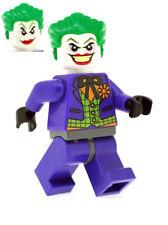Custom Designed Minifigure - Joker in Purple Suit Printed On LEGO Parts