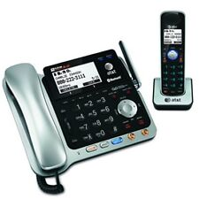AT&T 2-line TL86109 DECT 6.0 Corded Cordless Answering Bluetooth & Speakerphone