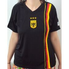 WM 2014 Camiseta de mujer Alemania NEGRO TALLA S