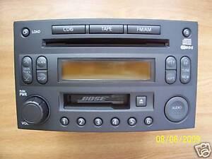 2003 Nissan Bose 350Z OEM Radio 6 CD Changer CR160
