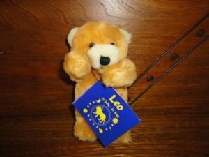 Ganz 1994 Miniature LEO Birthday Horoscope Bear P1665