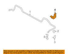 SUBARU OEM Forester Stabilizer Bar-Rear-Stabilizer Bar Bracket Right 20540SA050