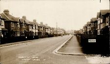 North Cheam. Abbotts Road at Northfield Crescent # 37 by North Cheam Bookshop.