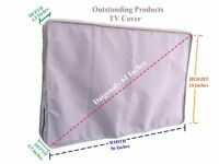 Weather Resistant Protective Outdoor TV Cover LG 60UF7700 HD Smart LED TV Grey