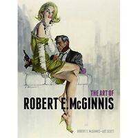 The Art of Robert E McGinnis - Hardcover Art Book - New ##