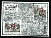 Bloc Feuillet 2012 N°F4704 Timbres - Les Grandes Heures de l'Histoire de France
