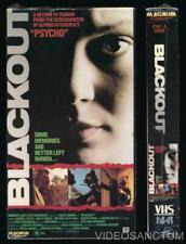 Magnum Entertainment VHS Blackout 1988 Gail O'Grady THRILLER DRAMA SUSPENSE Cult