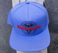 The Hundreds Skate Strike Laugh Blue Snapback Hat CapHTHD-61