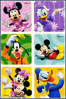 Mickey Mouse and Friends Stickers x 18, 24, 30 or 36 - Birthday Party Favours