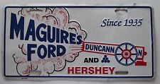 2000 MAGUIRE'S FORD DUNCANN AND HERSEY PA CANNON BOOSTER License Plate
