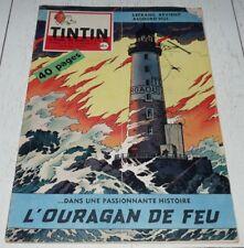TINTIN 26/11 1959 N°579 HERGE TIBET INDE MAHATMA GANDHI CANADA LEFRANC MARTIN