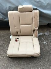 2007-2014 Tan leather 3rd Row Seat Suburb,Yukon,Escalade 07-14 Left Seat Only