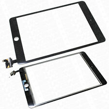 For iPad Mini 3 3rd Touch Screen Glass digitizer Panel Replacement IC Chip Black