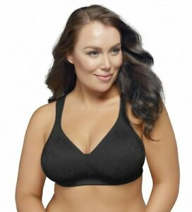 Playtex 18 Hour Ultimate Lift & Support Wirefree Bra | Black | Size 14-24 |P4745