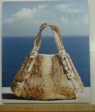 Vintage Gucci Leder Taschen bags Katalog Modekatalog Schuhe shoes Accessoires
