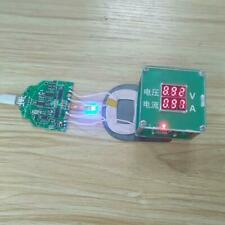 10W Qi Fast Charging Wireless Charger PCBA Circuit Board With Dual 2 Green Coils