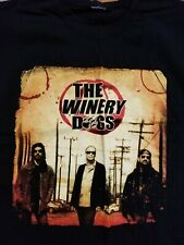 Winery Dogs Unleashed World Tour 2013 2014 Xl T Shirt hard rock Billy Sheehan